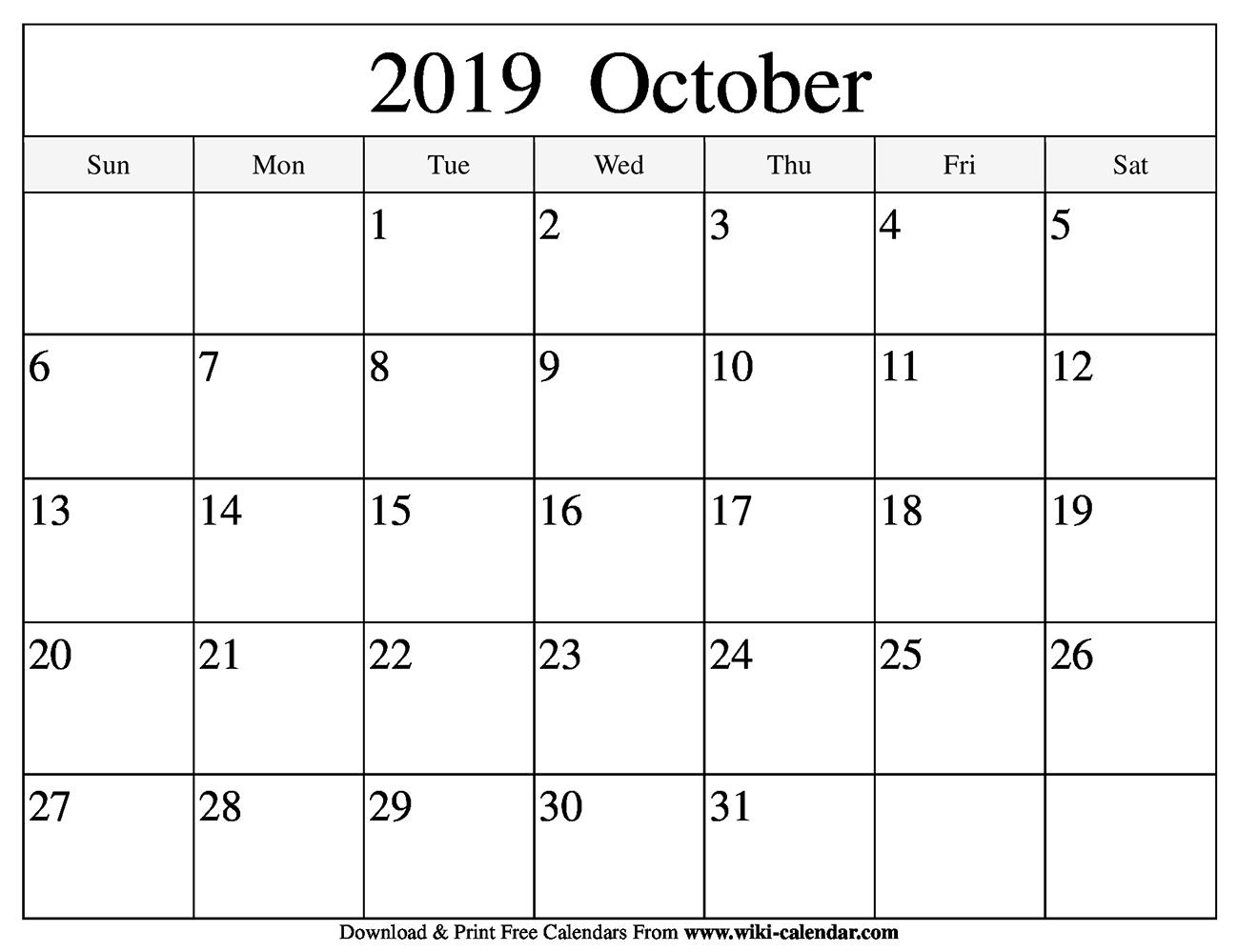 Print Free Calendars - Wpa.wpart.co
