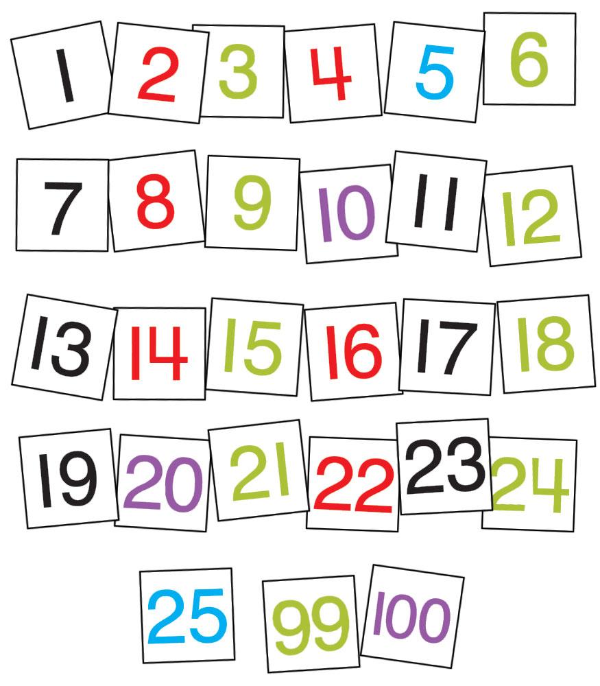 Free Printable Calendar Cards For Pocket Chart