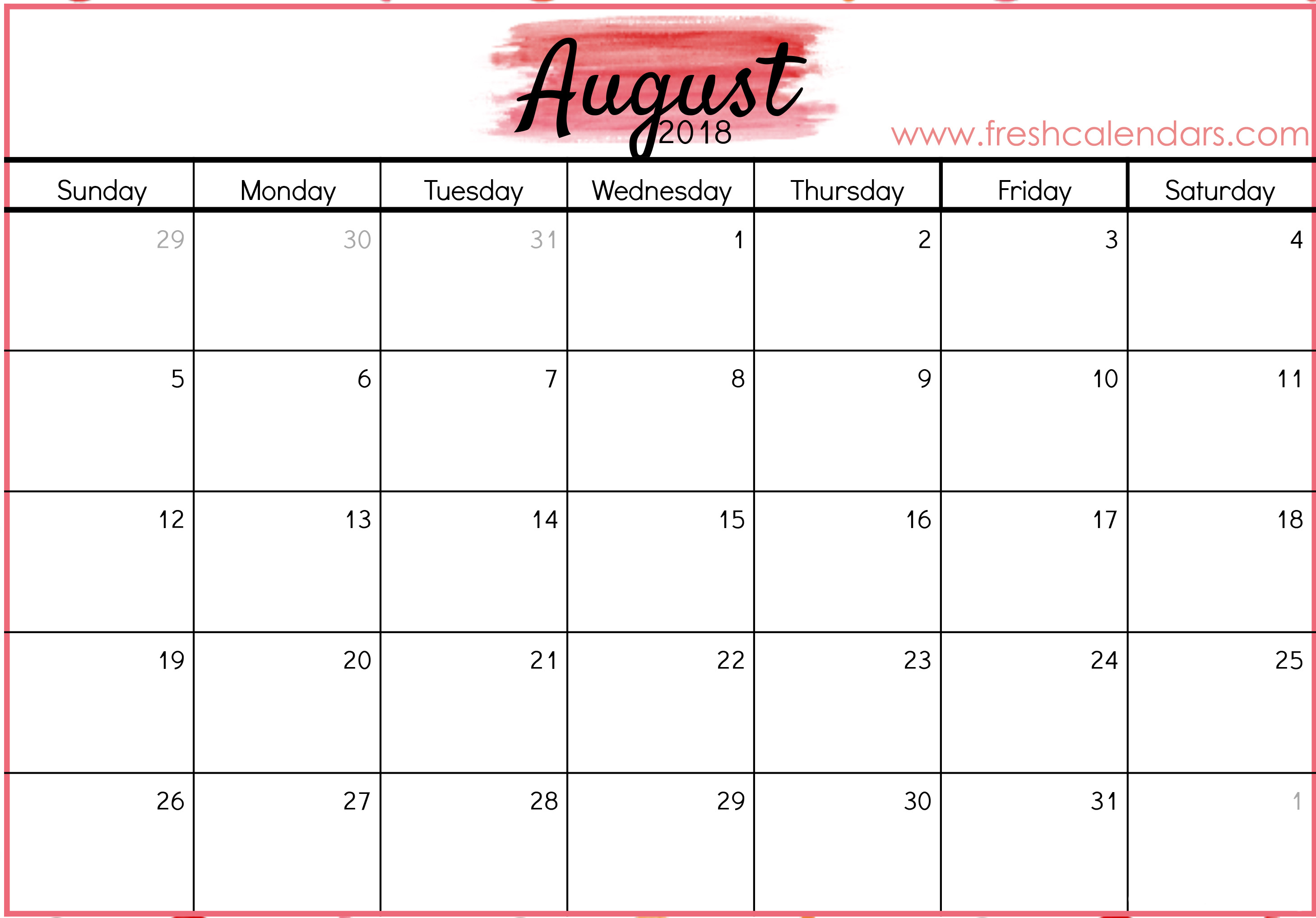 Printable Calendar Specific Dates | Printable Calendar 2020