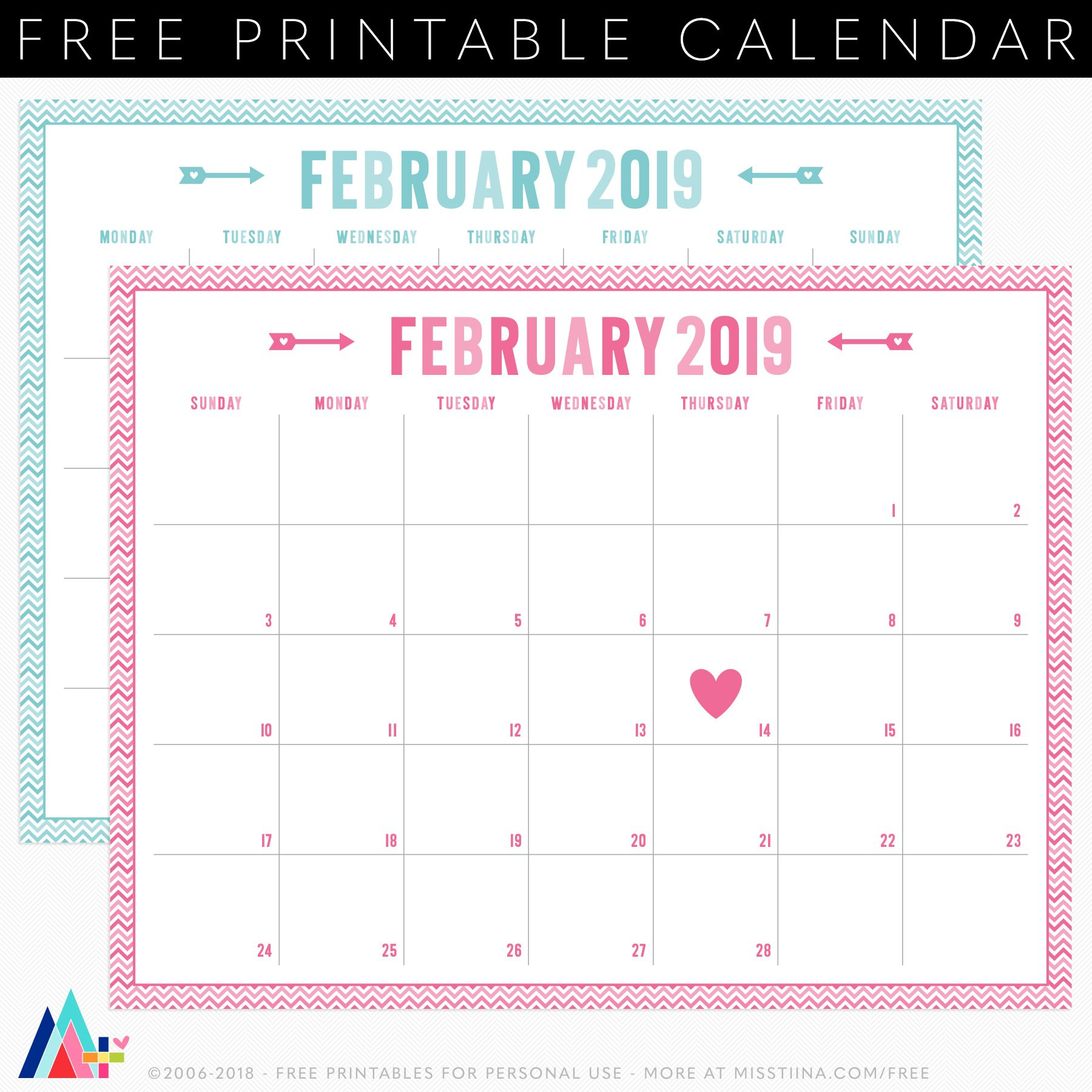 Printables | Printables | Valentine Calendar, Free Printable