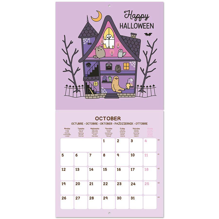 Pusheen The Cat Calendar 2020 - Calendars Buy Now In The