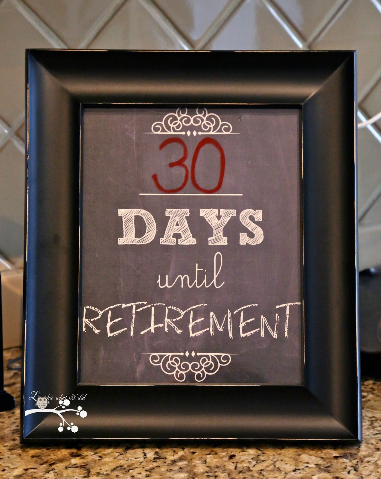 Retirement Countdown.free Printable | Retirement