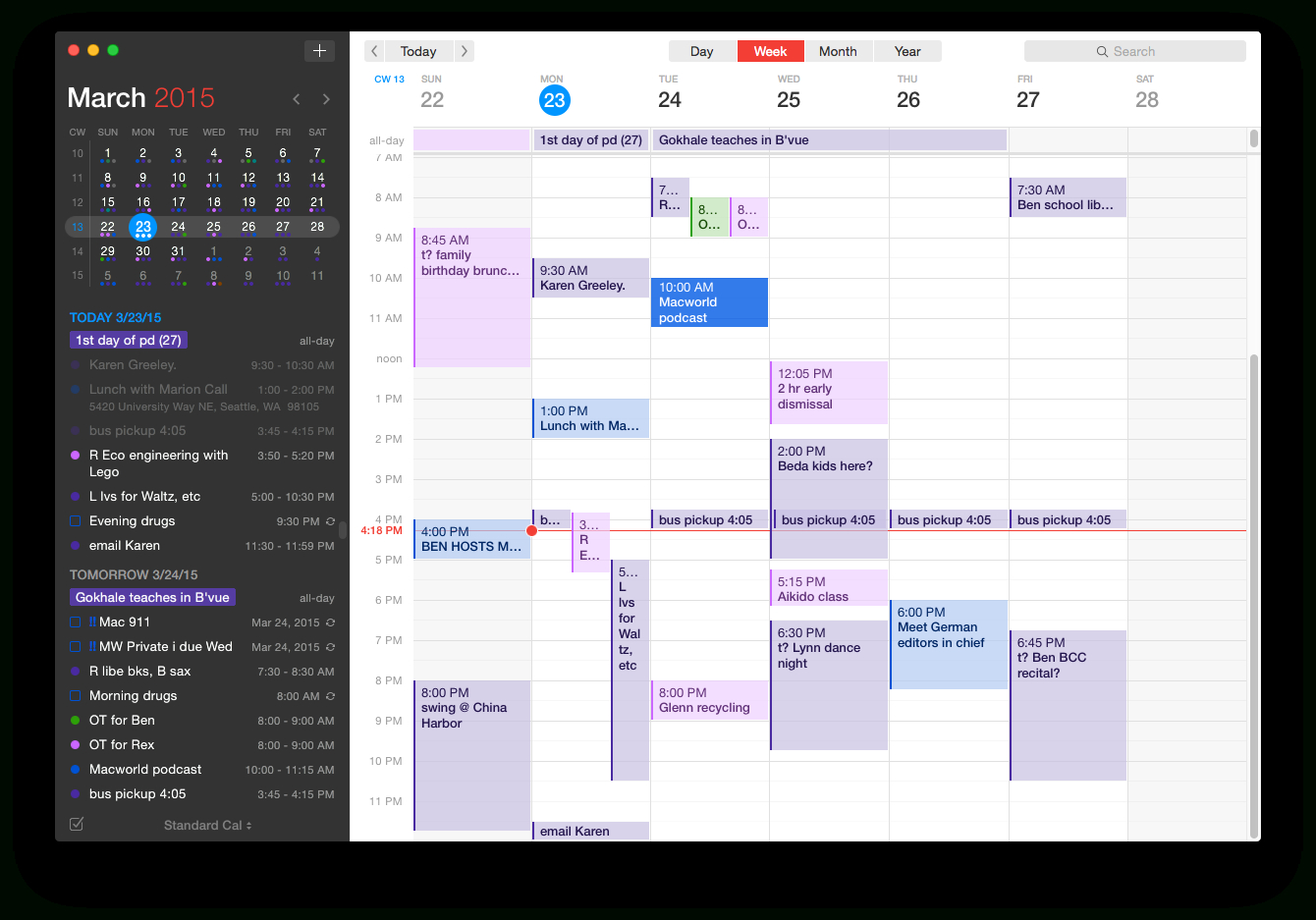 Review: Fantastical 2 Ups The Ante For Events In Os X | Macworld