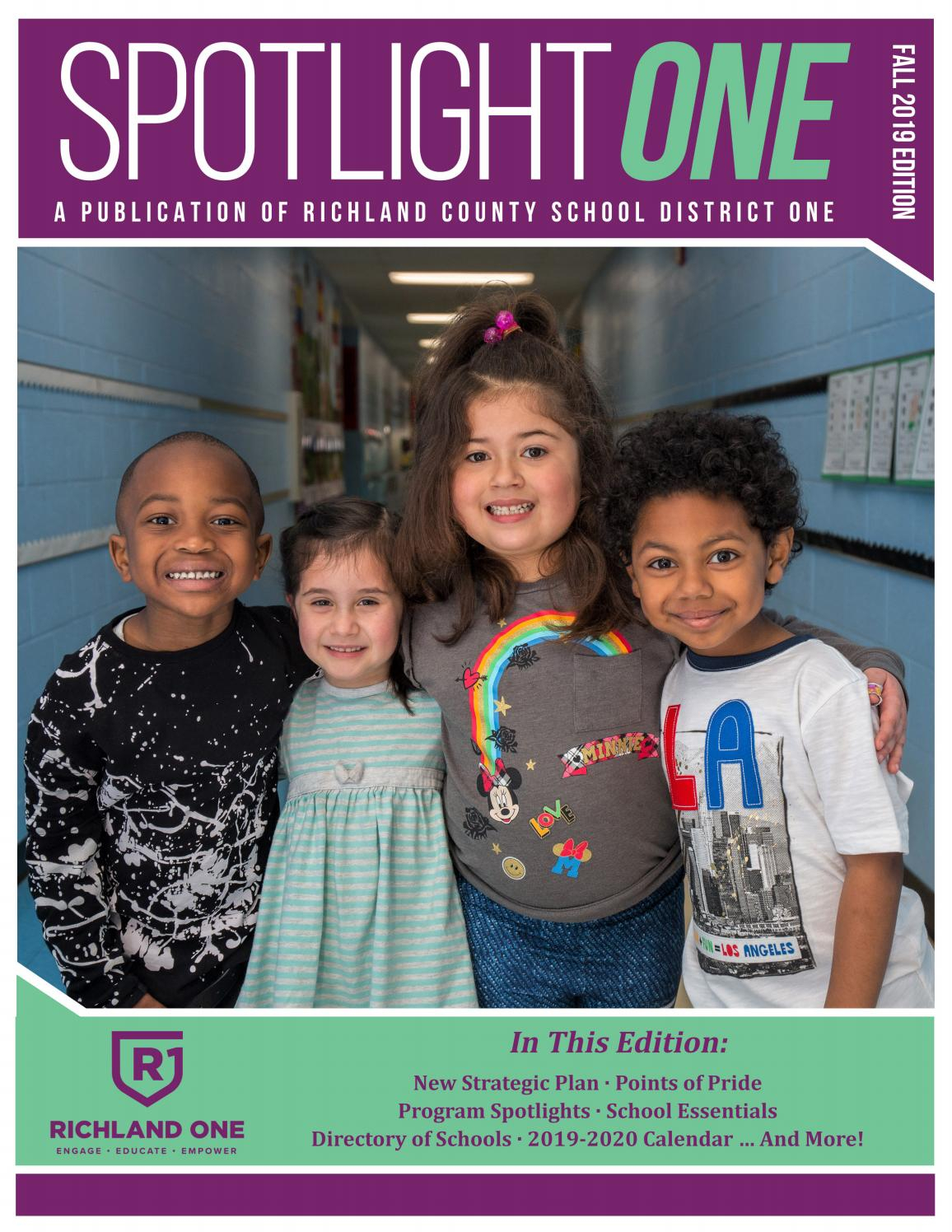 Richland County School District One Spotlight One Back-To