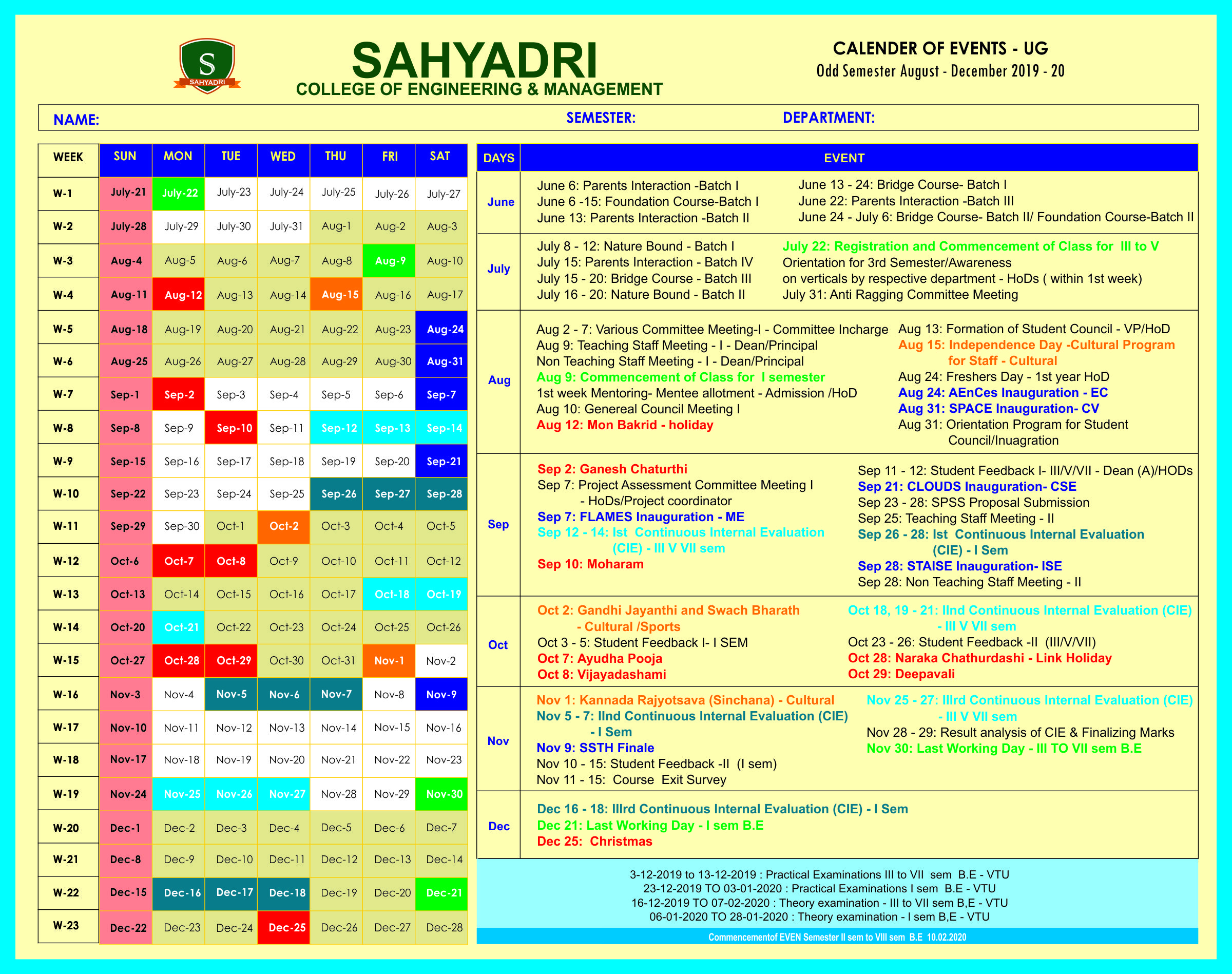 Sahyadri College Of Engineering & Management