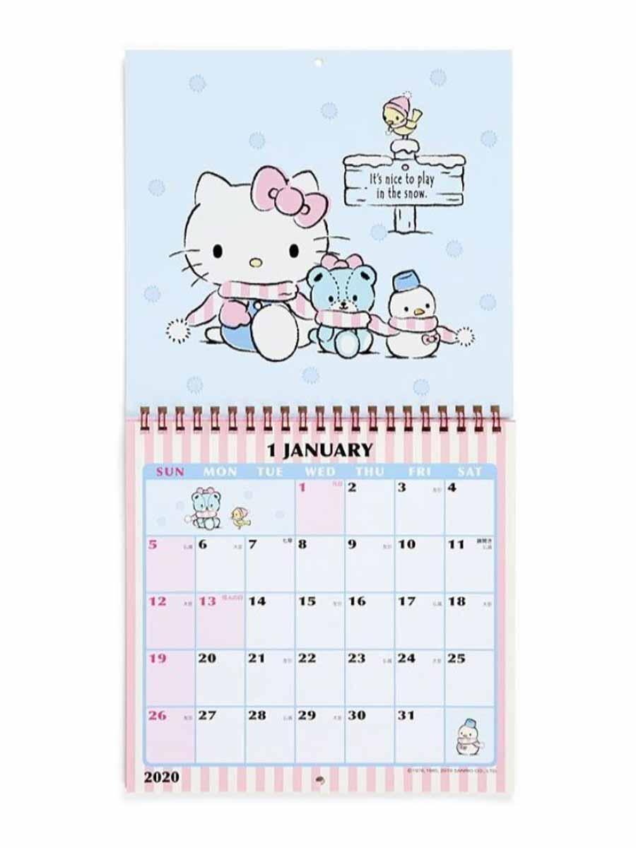 Sanrio Hello Kitty Wall Calendar: M 2020 | Central.co.th