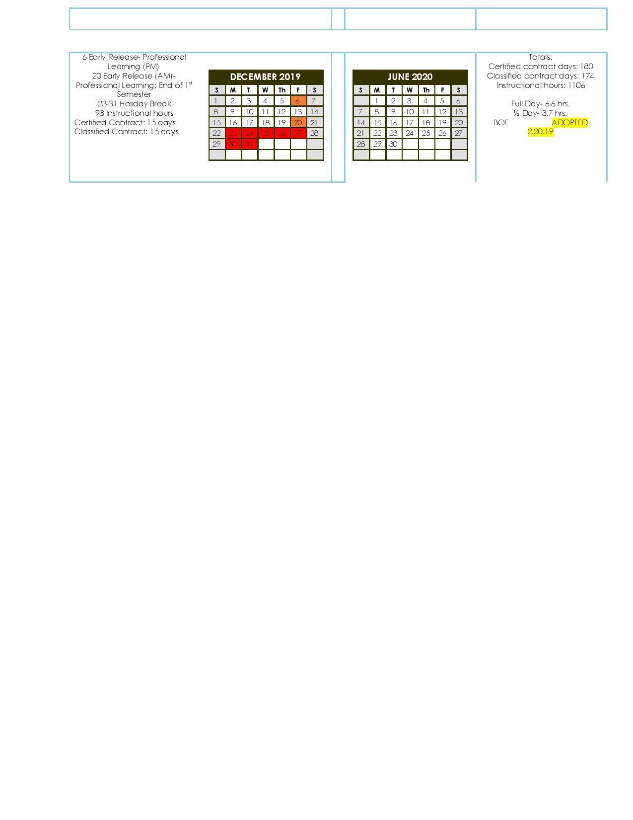 School Calendar - Miller County R-3