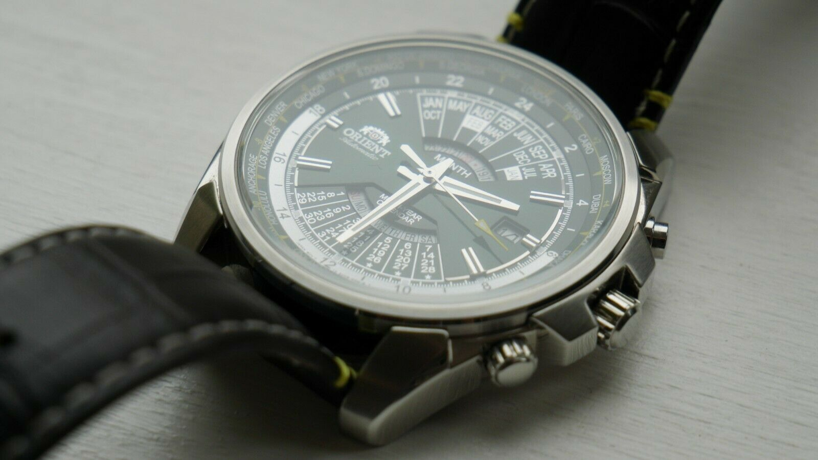 Selling Orient Multi Year Calendar Eu0B-C5-A Watch