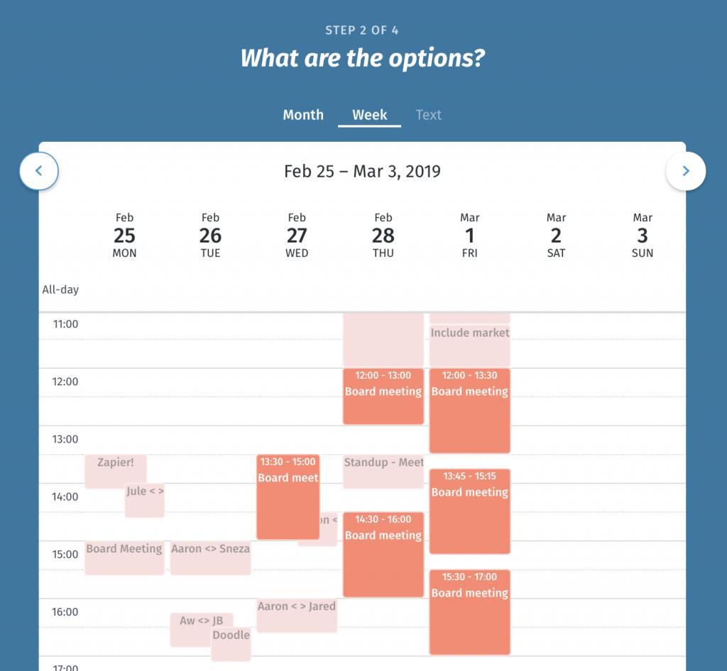 Shared Calendar - Easy Online | Doodle