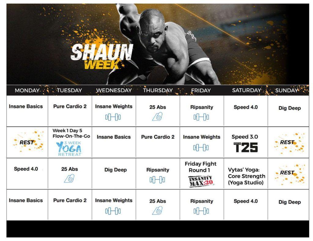 Shaun Week Challenge #beachbody #beachbodychallenge