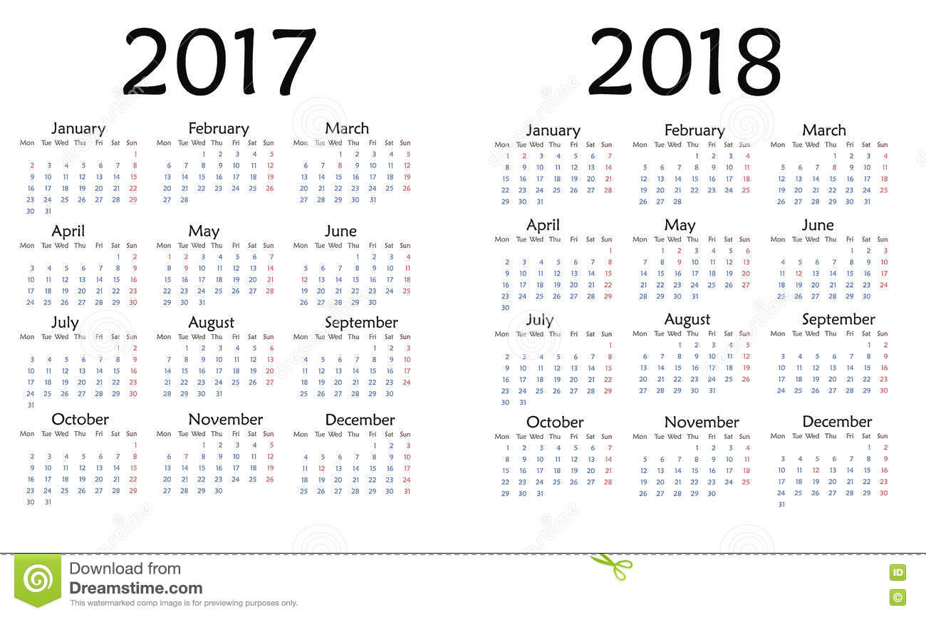 Simple Yearly Calendar - Wpa.wpart.co