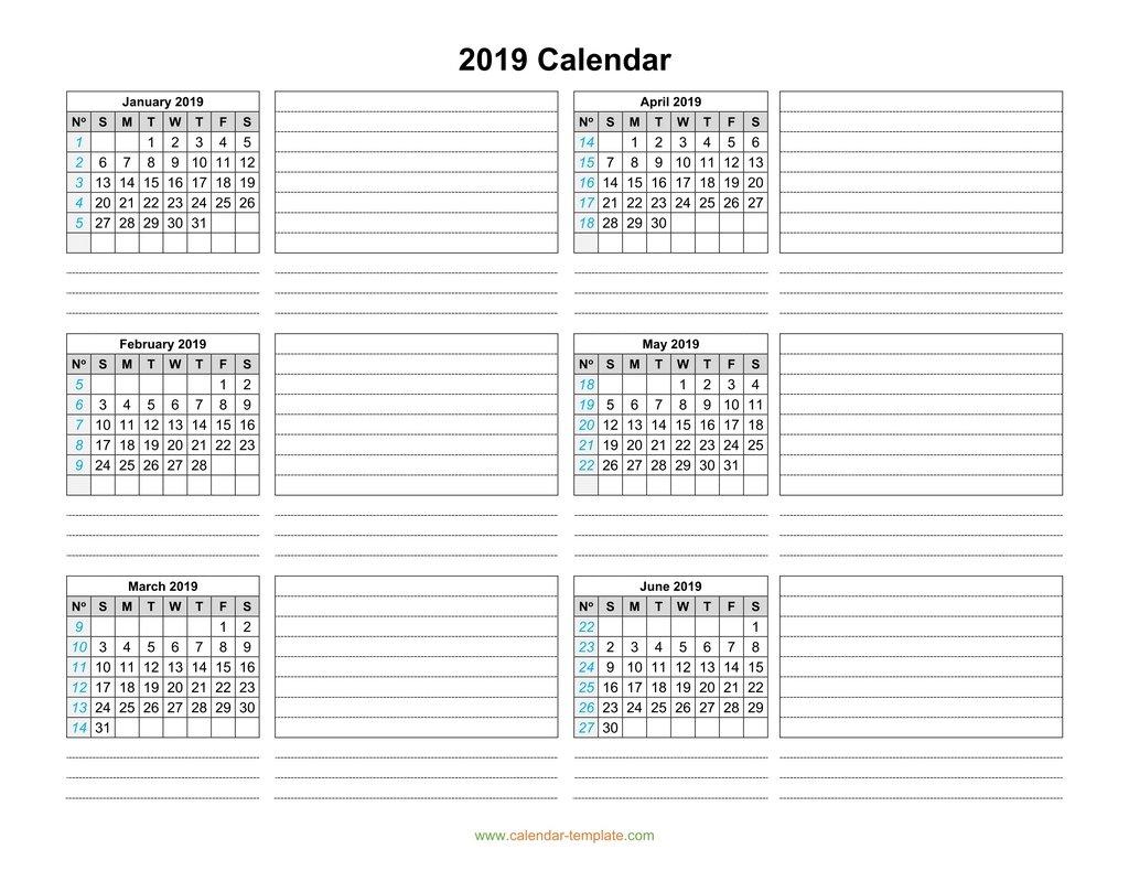 Six Months Calendar - Wpa.wpart.co