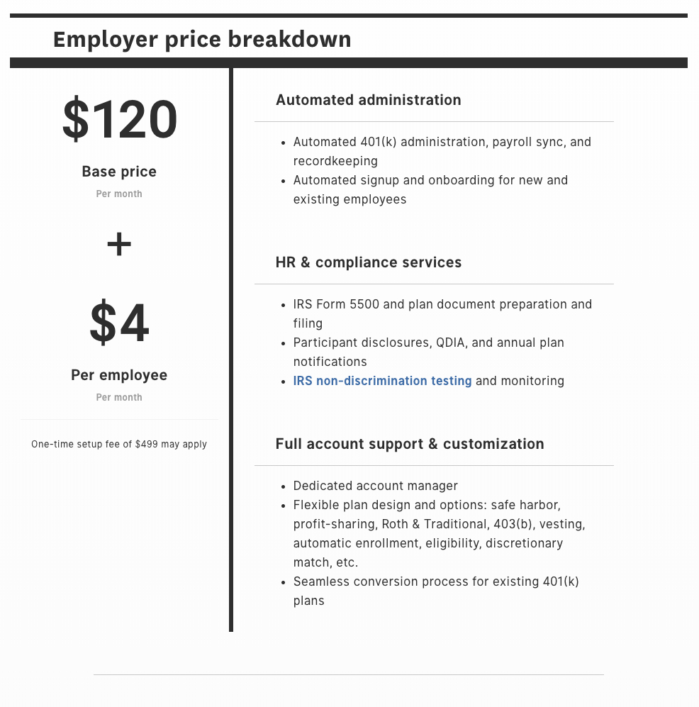 Small Business 401(K) Cost - How Much Does A 401(K) Cost
