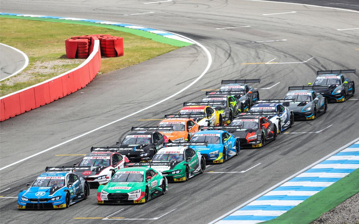 Smp Rcrs And W Series Round In Support For Dtm At St