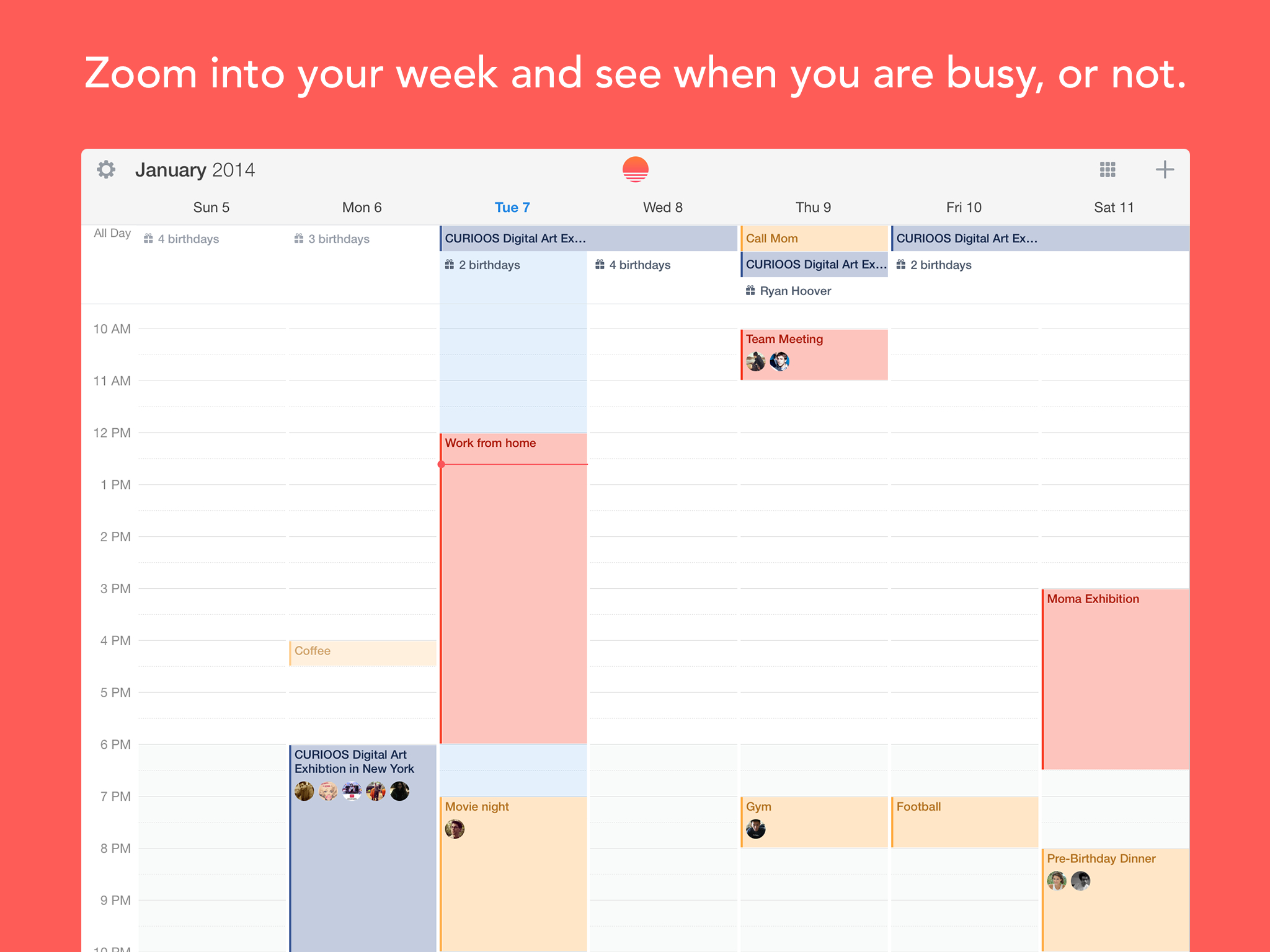 Sunrise Adds Ipad App And Week View In Its Quest To Build