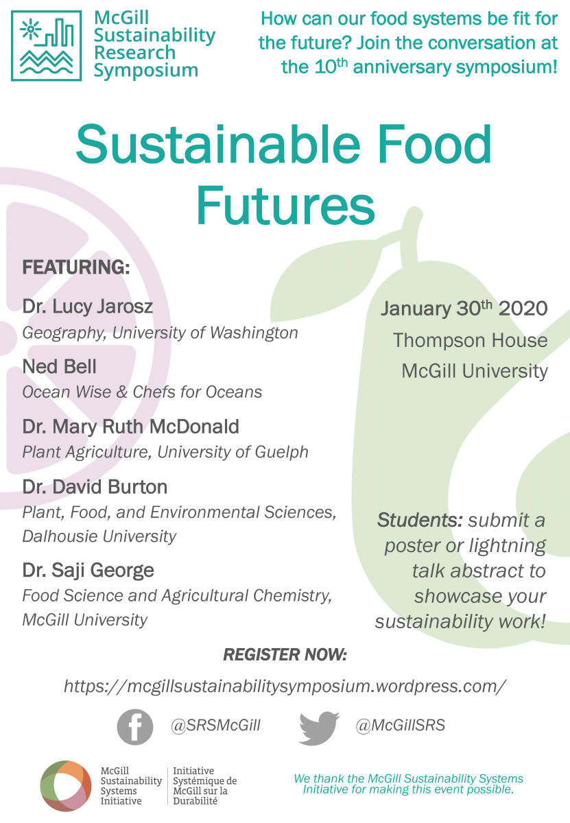 Sustainable Foods Future - 10Th Sustainability Research