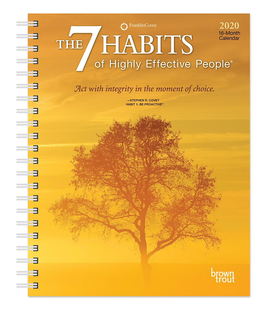 The 7 Habits Of Highly Effective People 2020 6 X 7.75 Inch