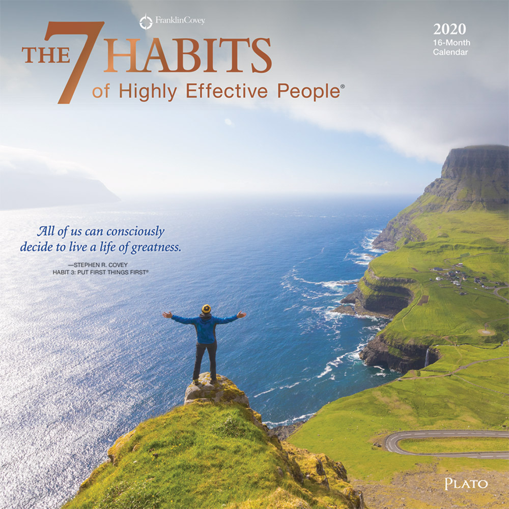 The 7 Habits Of Highly Effective People 2020 Square Wall
