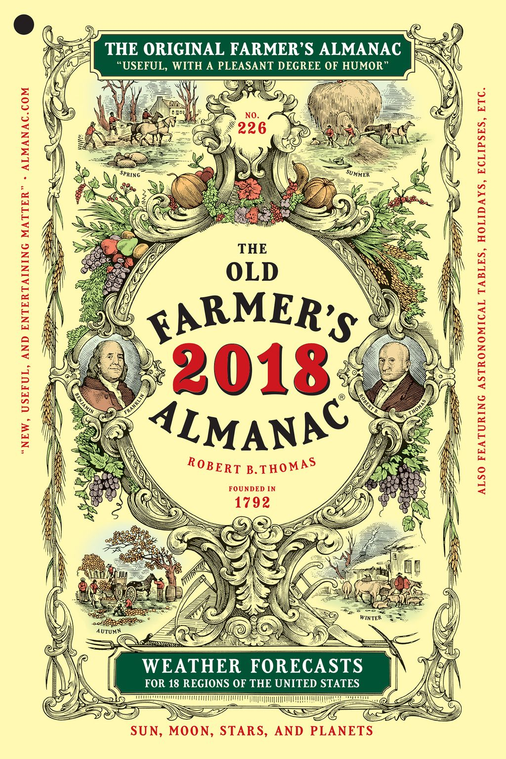 The Old Farmer's Almanac 2018 (Ebook) | Products In 2019