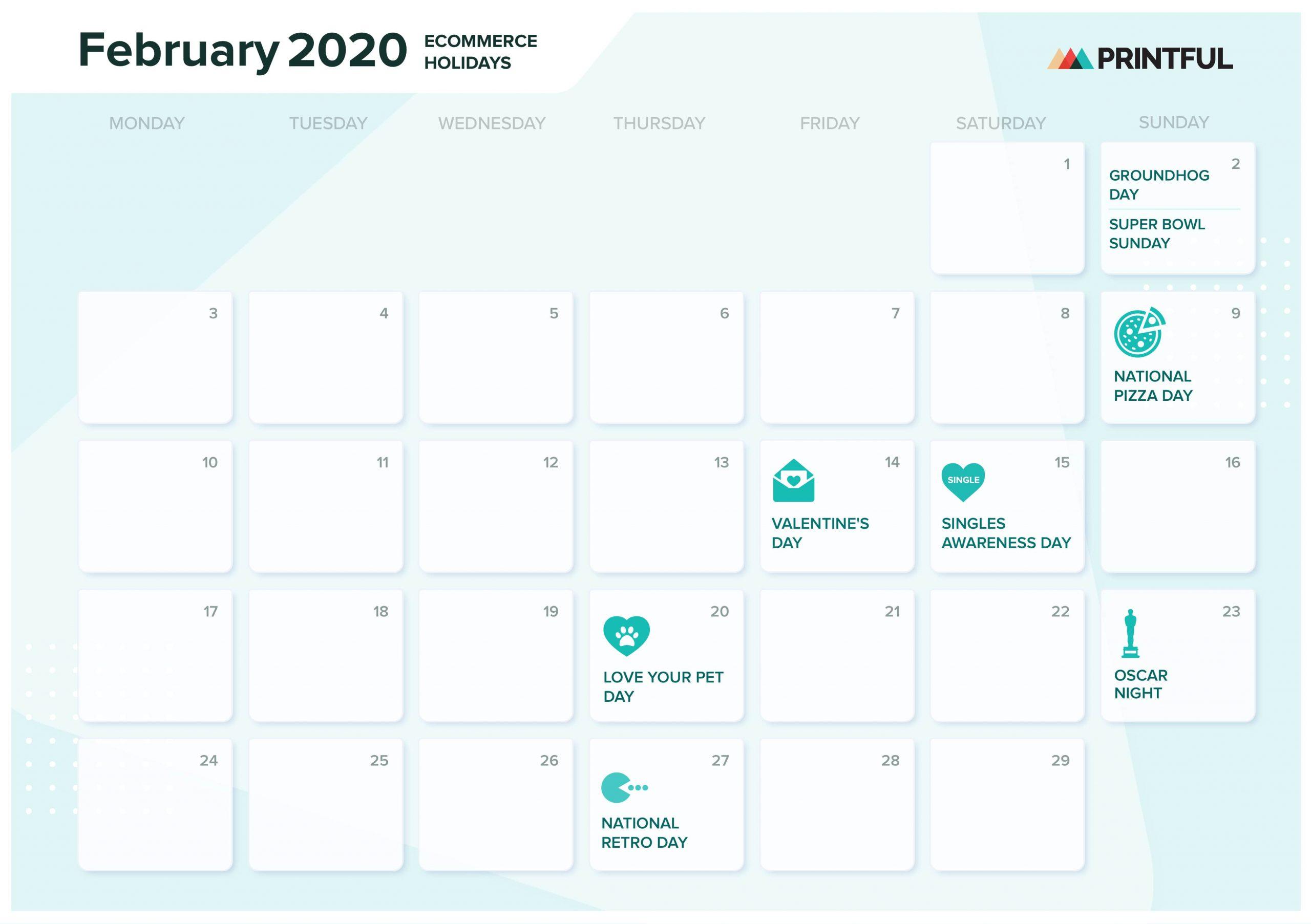 The Ultimate 2020 Ecommerce Holiday Marketing Calendar