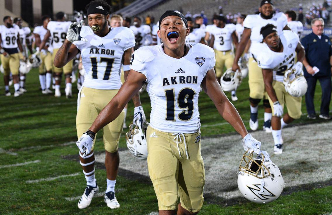 The View From Pluto: Akron Football Channels 'buchtel