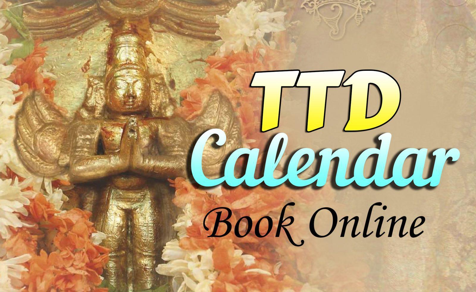 Tirumala Tirupati Devasthanam Releases 2020 Calendar, Ttd