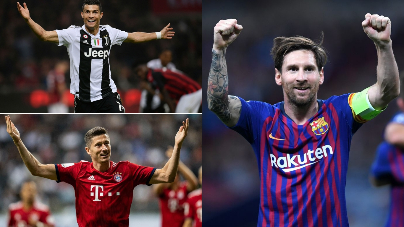 Top 5 Goalscorers Of 2018 From Europe's Top 5 Leagues
