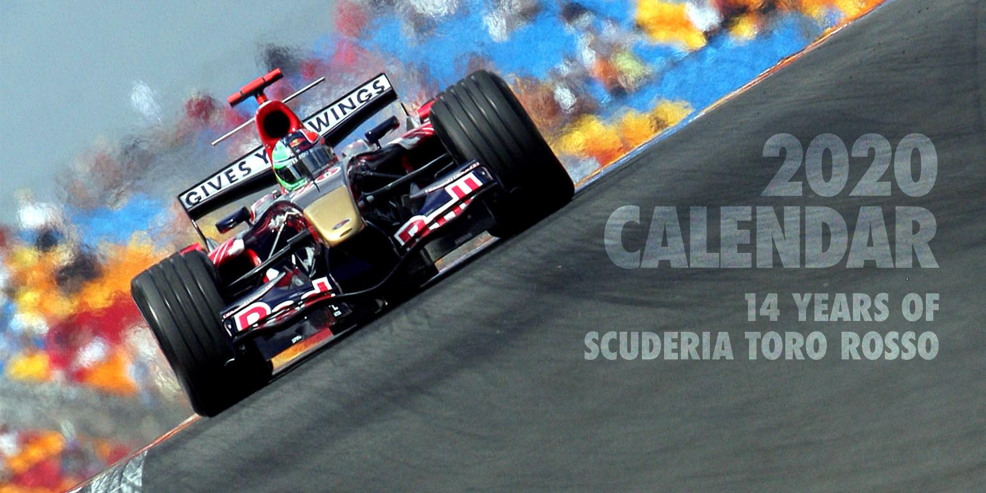 Toro Rosso 2020 Calendar | Scuderia Toro Rosso
