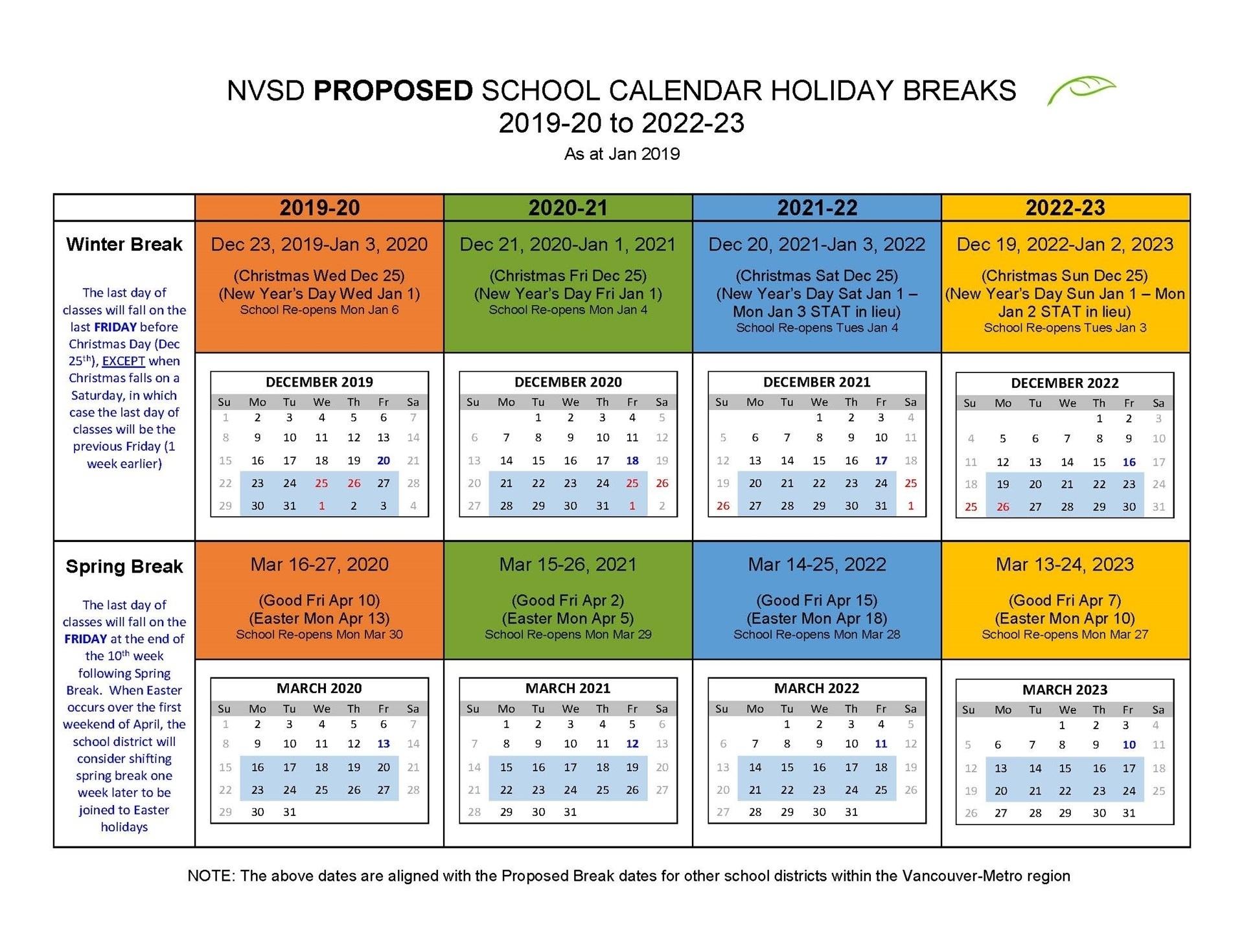 Unit 5 School Calendar 2019-20   Calendar Design Ideas