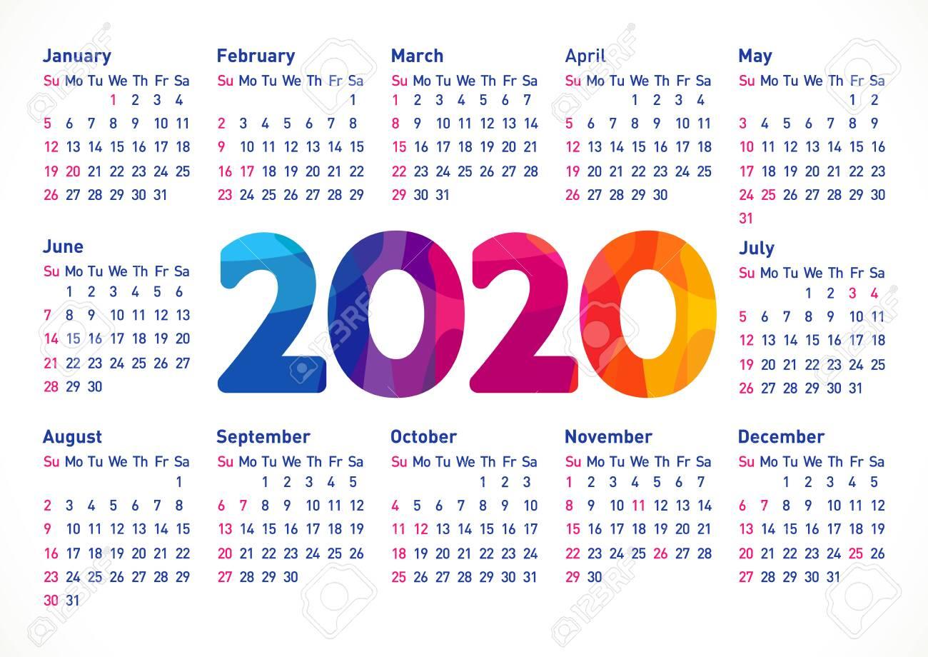 Usa Calendar 2020 - Wpa.wpart.co