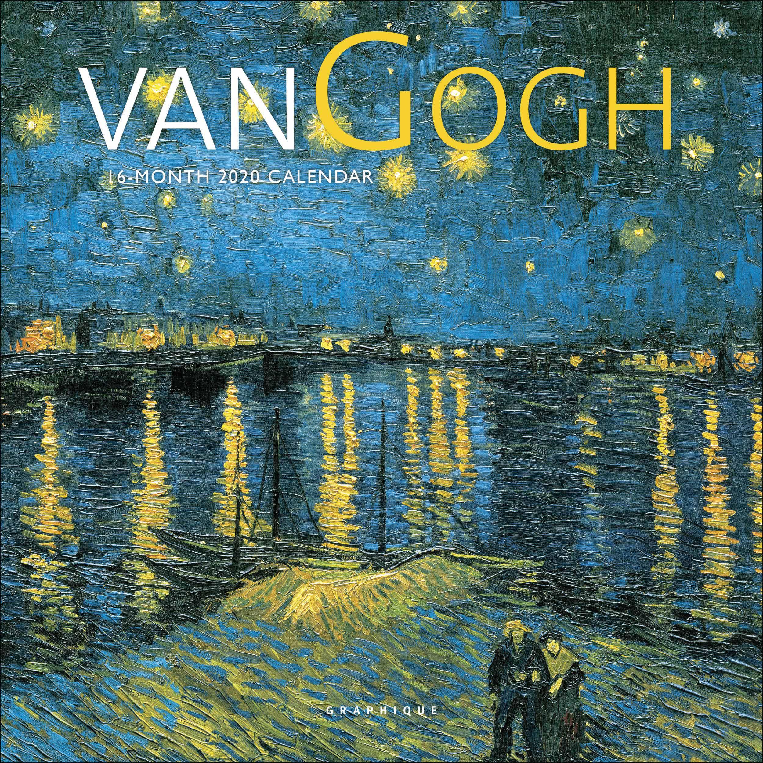 Van Gogh Mini Calendar 2020