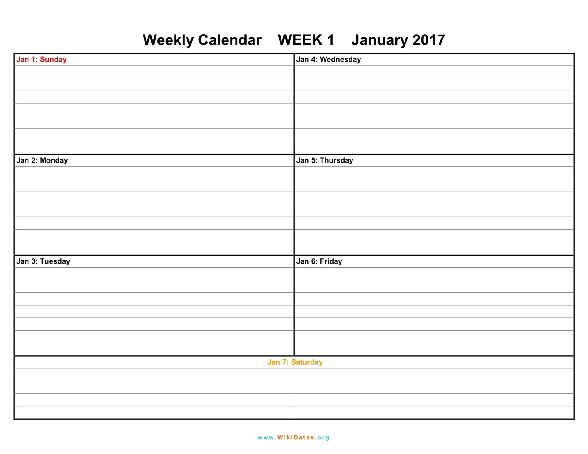 Week Calendars - Wpa.wpart.co
