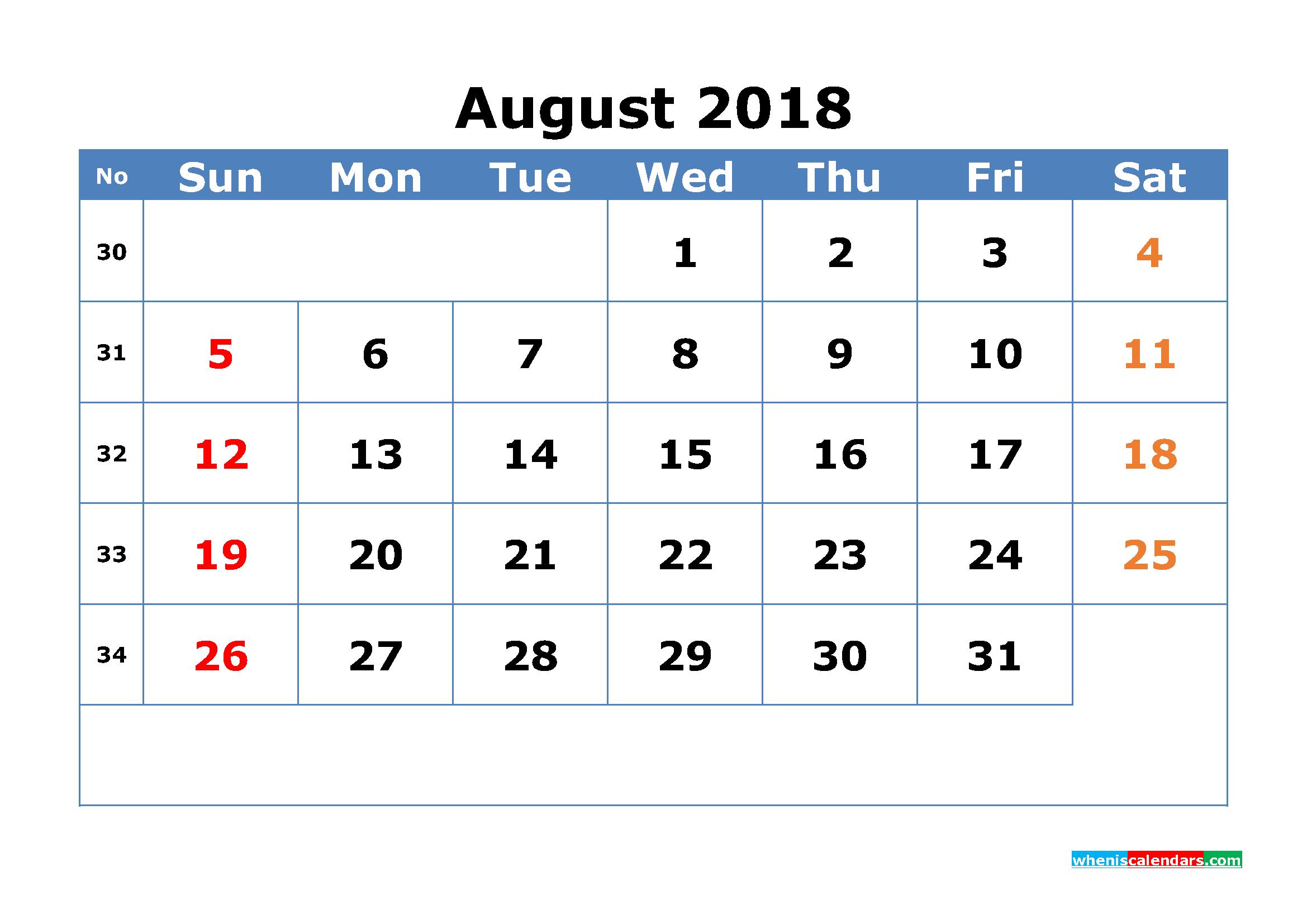 Week Numbered Calendar - Wpa.wpart.co