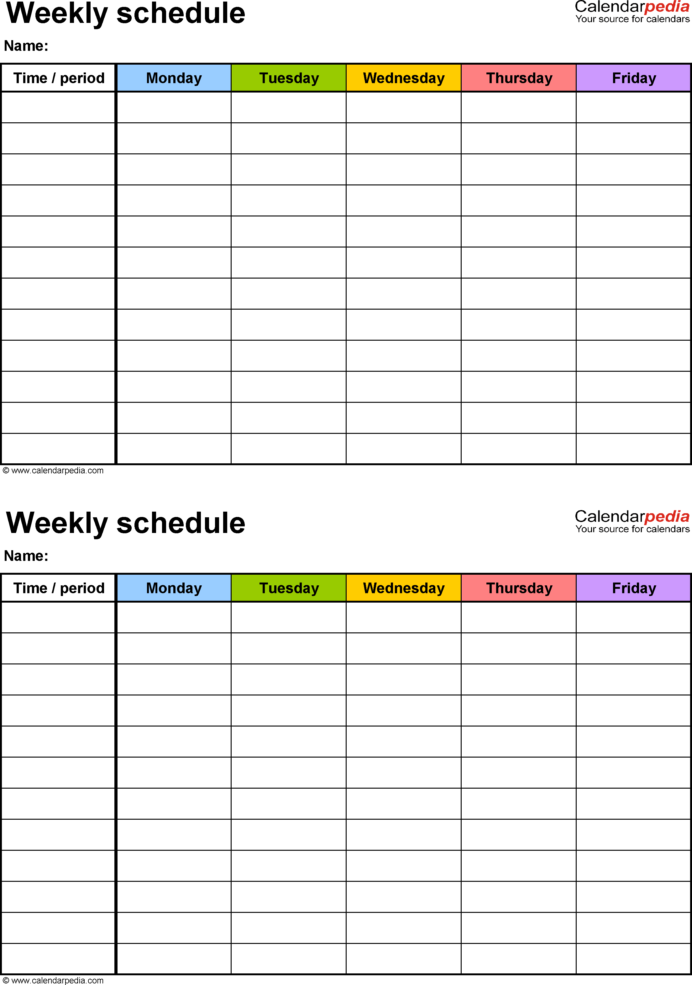 Week Schedule Print Out - Wpa.wpart.co