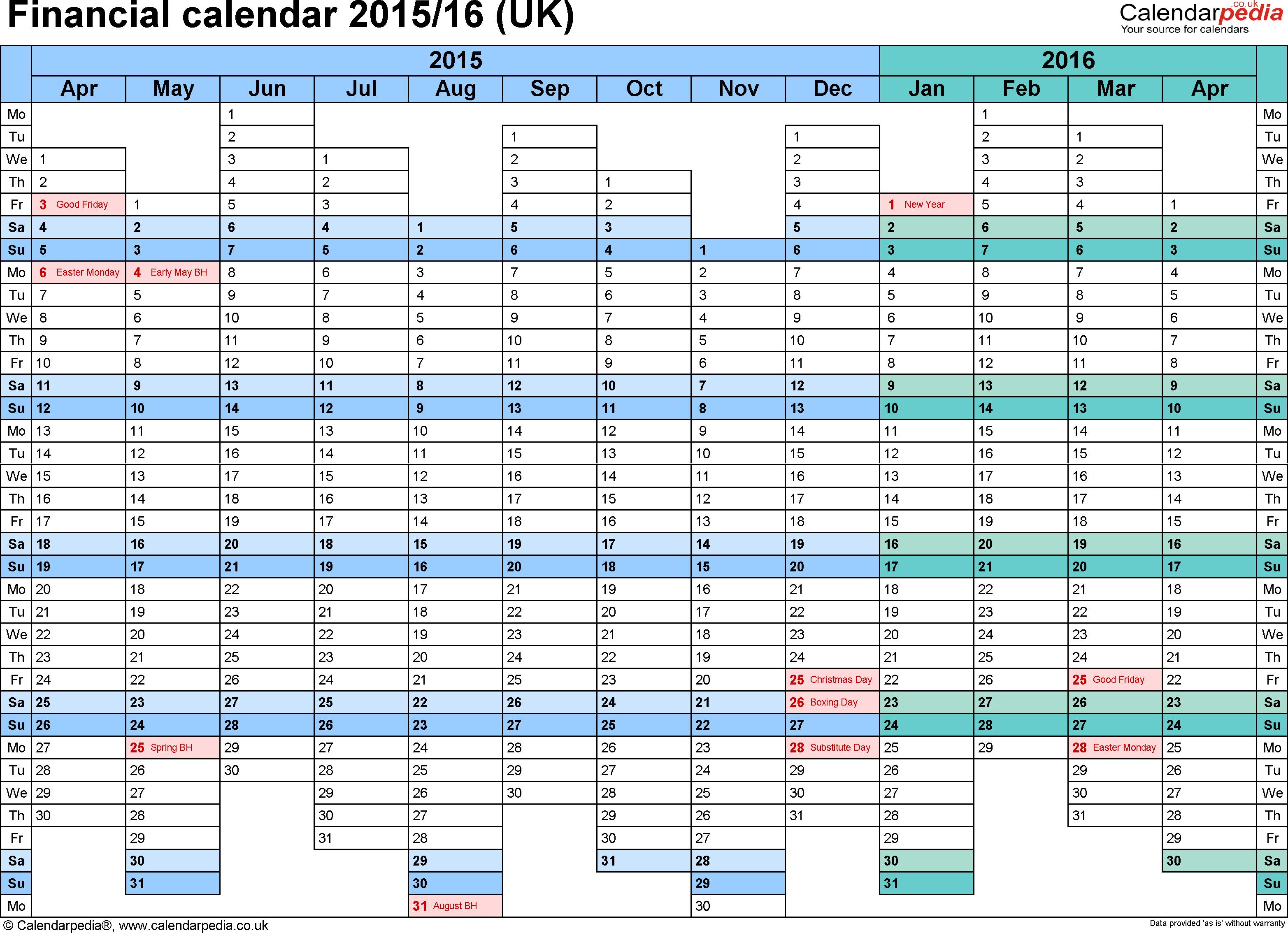 Weekly Calendar 2015 - Wpa.wpart.co