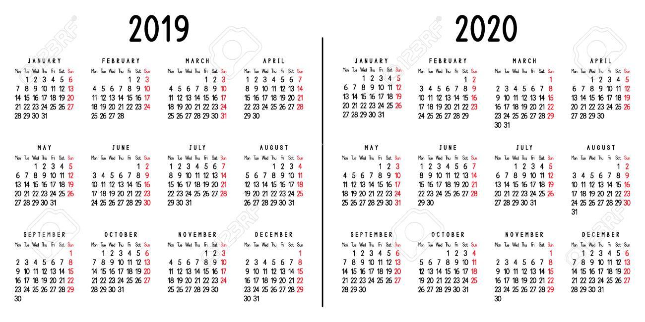 Weekly Calendar 2020 - Wpa.wpart.co