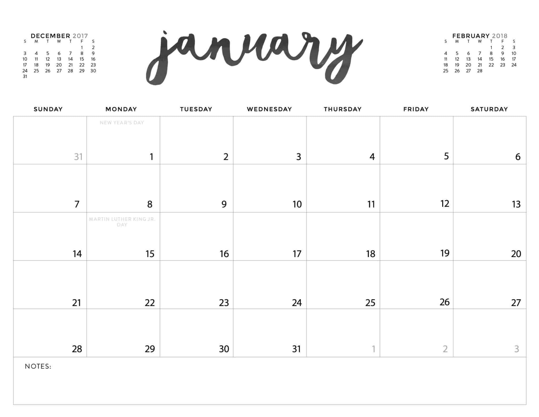 White Calendars - Wpa.wpart.co
