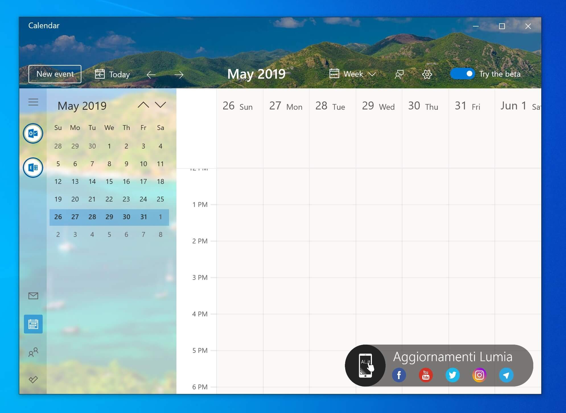 Windows 10 Calendar Receives New, Beautiful Ui