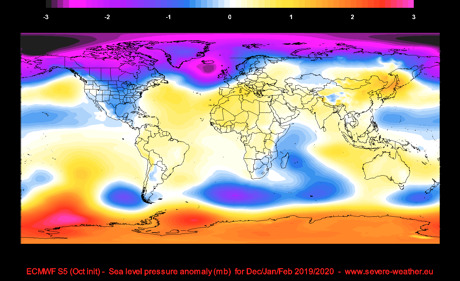 Winter 2019/2020* Update - Latest Model Forecasts For The