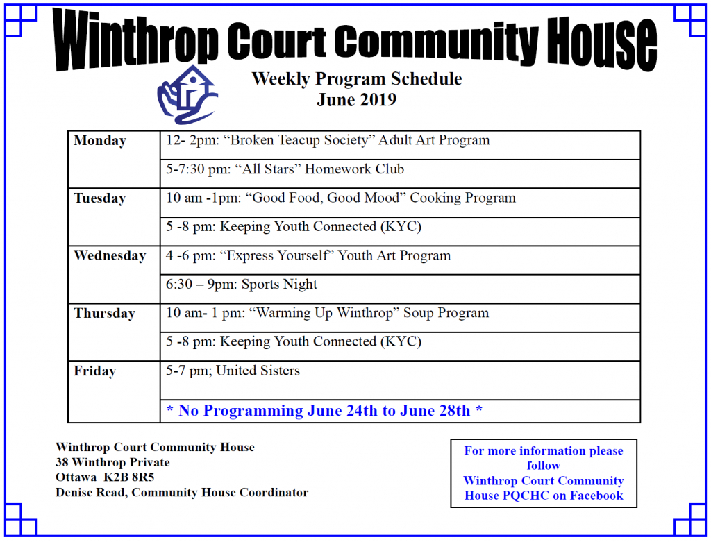 Winthrop Court – Bay Ward Bulletin