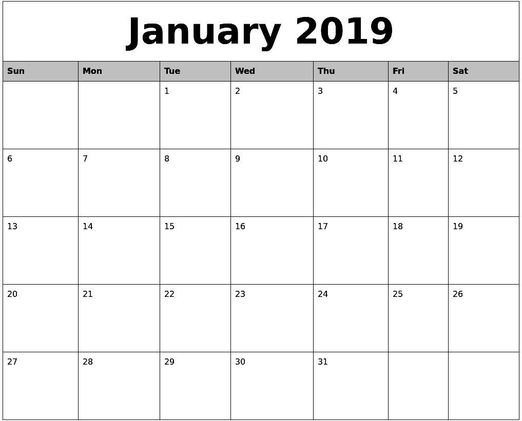 Word Document Calendar Template - Wpa.wpart.co