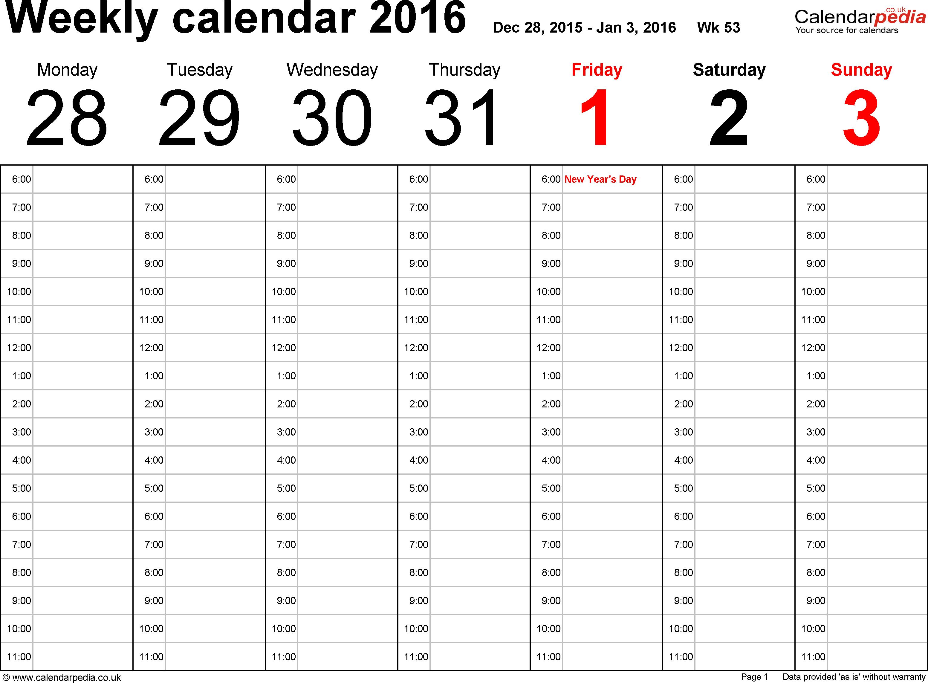 Yearly Calendarweek - Wpa.wpart.co