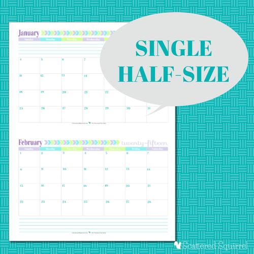 2015 Calendar Printables: You Asked, I'M Answering
