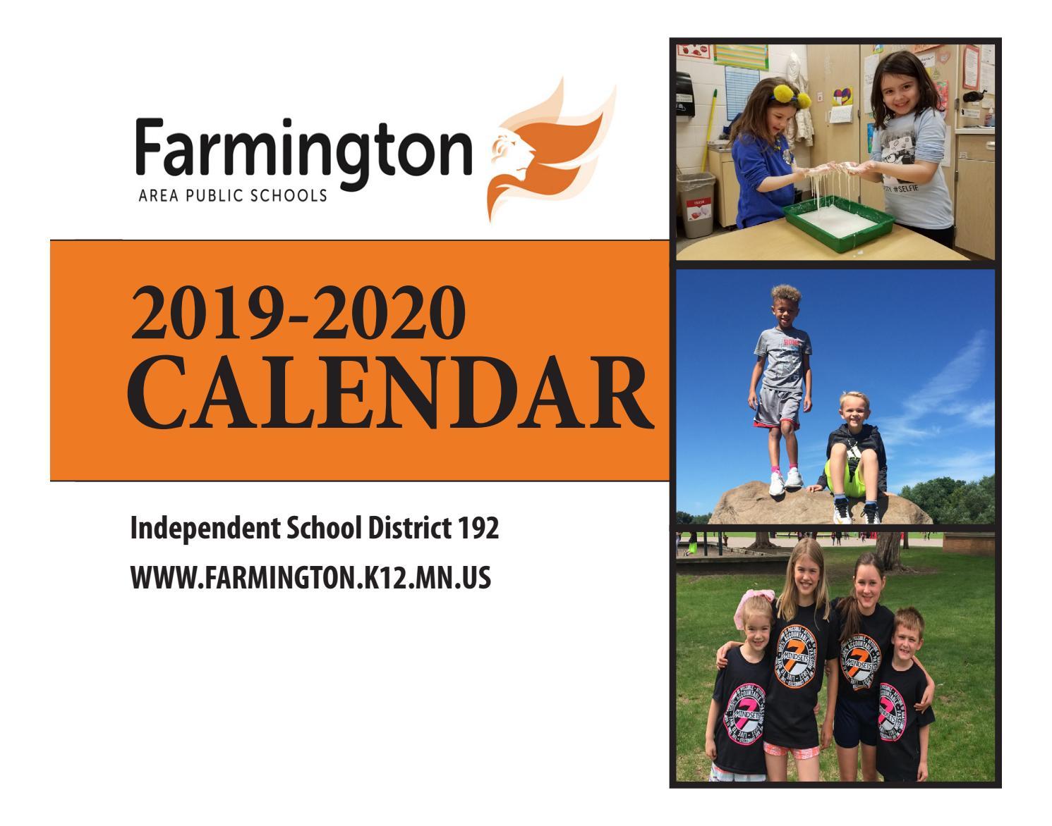 2019-2020 District 192 Calendarsally Mcconnaughey - Issuu
