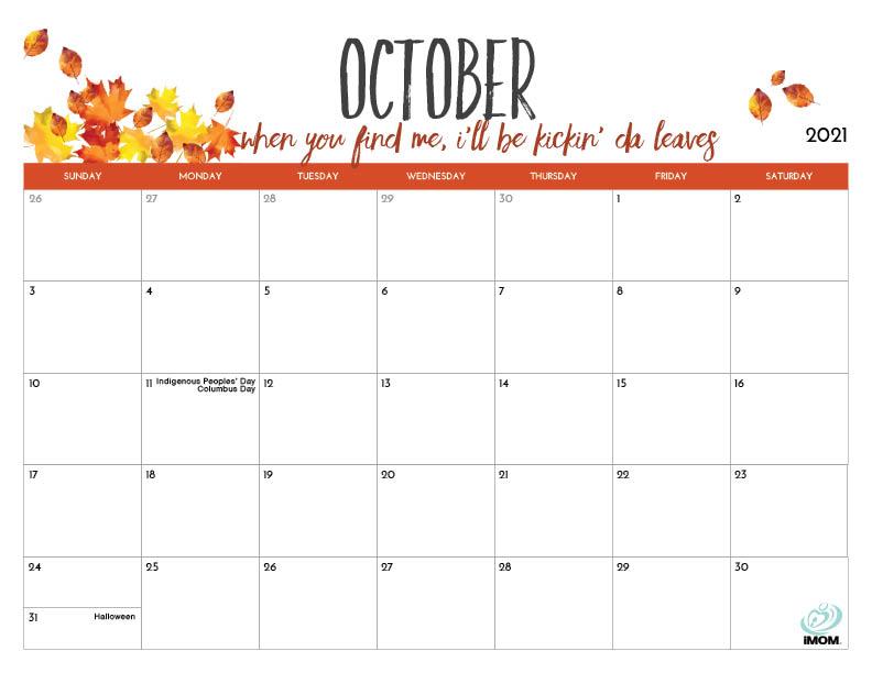 2020 And 2021 Printable Calendars For Moms - Imom
