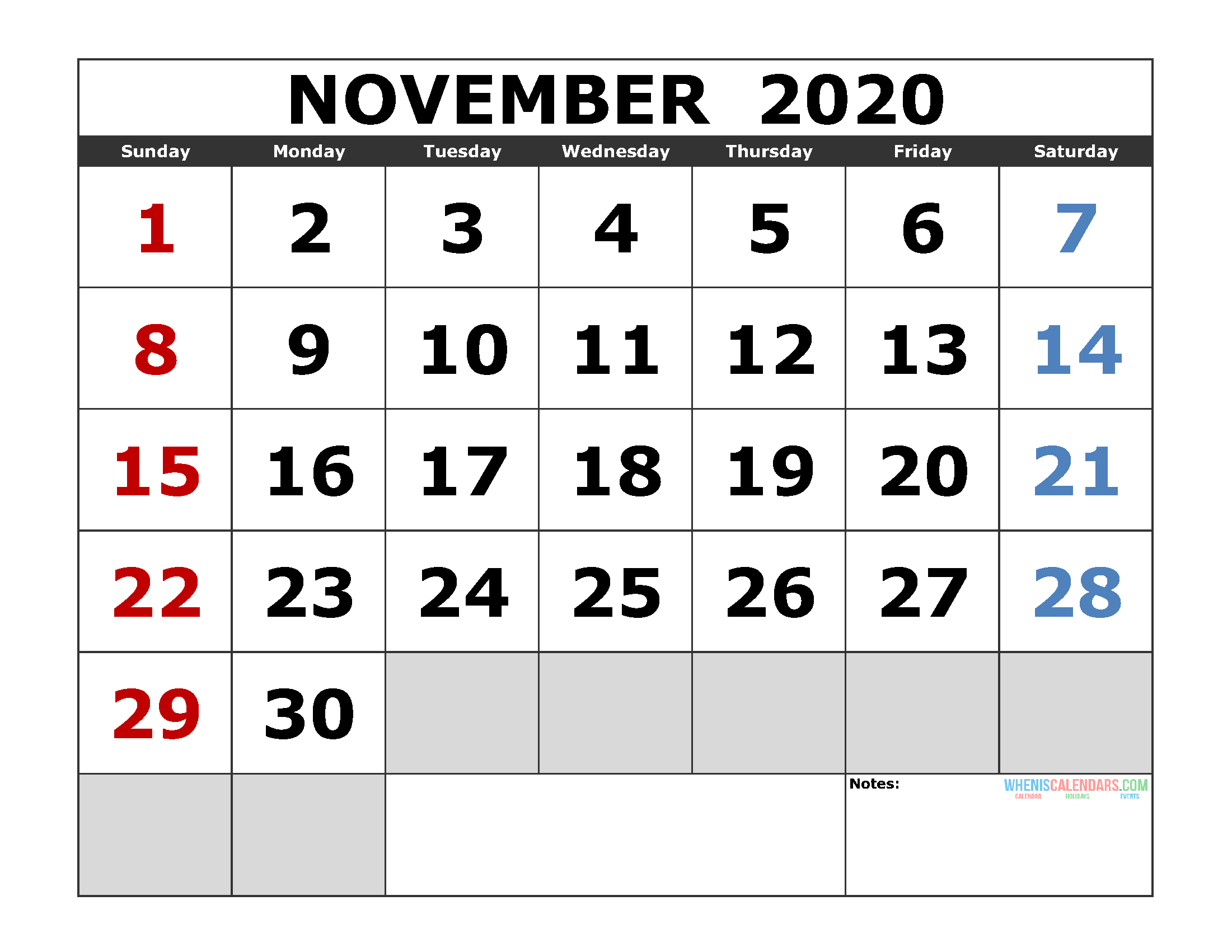 2020 Jewish Holidays Printable Calendar | Example Calendar