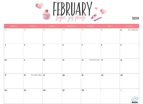 2020 Printable Calendar For Moms | เค้าโครงการนำเสนอ และ