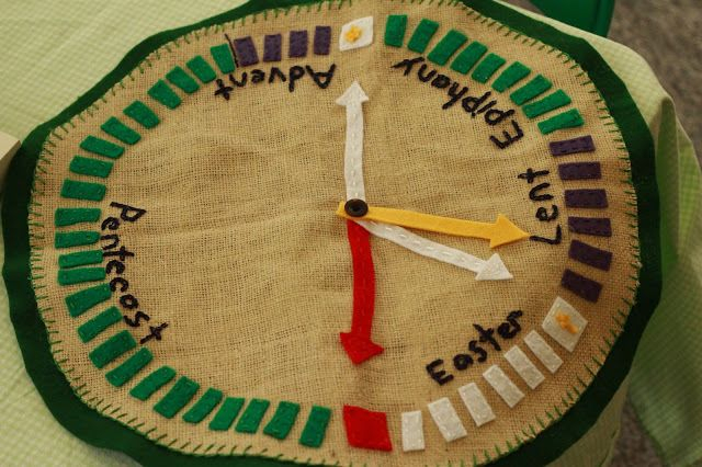 A Circle Of The Church Year (With Images) | Godly Play