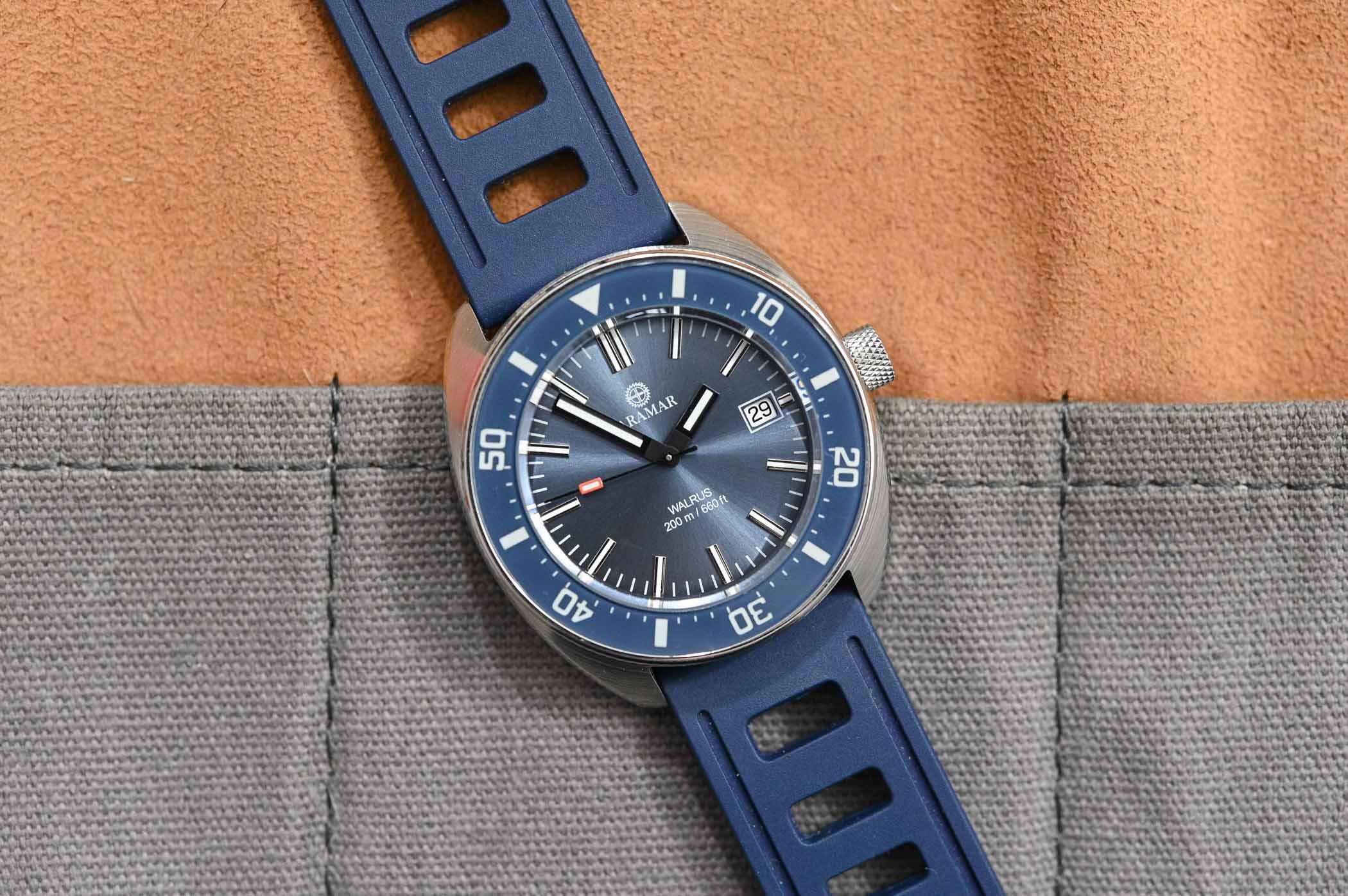 Aramar Walrus, Dutch 1970S Dive Watch On Kickstarter