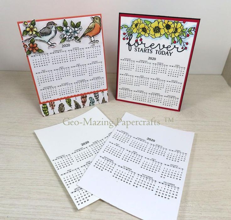 Blank Palette Pdf 2020 Calendar For Decorating Greeting